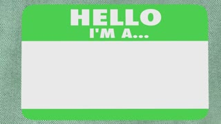 Hello I Am Sme Subject Matter Expert Name Tag Shirt 3 D Animation