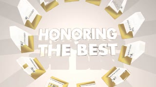 Honoring The Best Awards Ceremony Recognition 3 D Animation