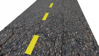 How Far Can I Go Question Mark Road 3 D Animation