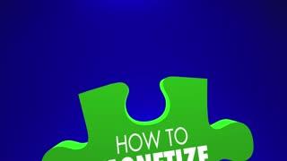 How To Monetize Puzzle Pieces Demand Deliver Value 3 D Animation