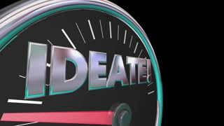Ideate Speedometer Measurement Gauge 3 D Animation