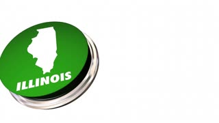 Illinois Il State Button Best Location Choice 3 D Animation
