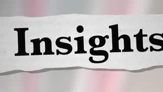 Insights Information Headlines News Knowledge 3 D Animation