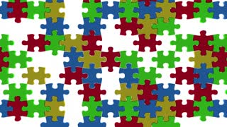 Intelligence Smarts Knowledge Information Puzzle Pieces 3 D Animation