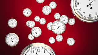 Last Chance Clocks Running Out Time Hurry 3 D Animation