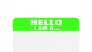 Listener Confidant Friend Help Support Name Tag 3 D Animation