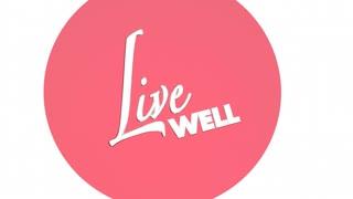 Live Well Feel Well Venn Diagram 3 D Animation