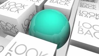 Look Ahead Forward Vs Back Future 3 D Animation