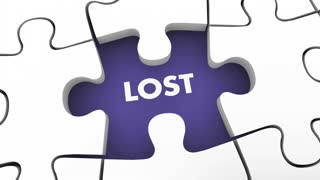Lost And Found Searching Finding Missing Items Puzzle 3 D Animation