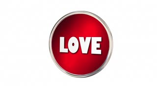 Love Learn Live Words Advice Circles Arrows 3 D Animation