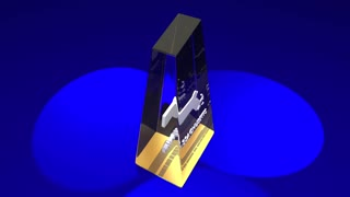 Massachusetts Ma State Map Award Best Prize Trophy 3 D Animation