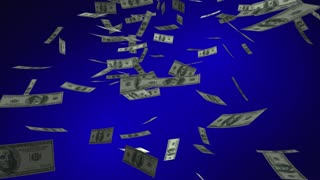 More Bang For Your Buck Money Falling Cash Saying 3 D Animation