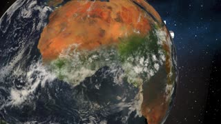 Peace On Earth Planet World Live Together Harmony 3 D Animation