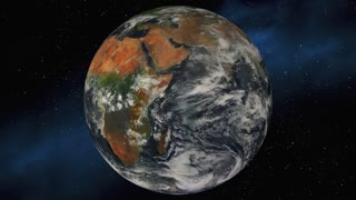 Protect It Planet Earth Save Environment 3 D Animation Elements of this image furnished by NASA