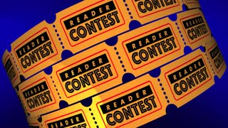 Reader Contest Audience Web Online Tickets 3 D Animation