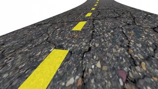 Reality Road Word Real World 3 D Animation