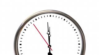 Reduce Risk Reducing Liability Danger Time Clock 3 D Animation