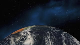 Renewable Earth Planet Energy Resources 3 D Animation