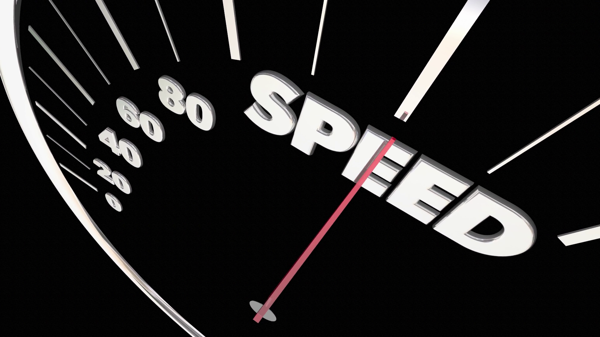 Speed Fast Acceleration Speedometer Measure Results 3 D ...