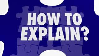 Storytelling Puzzle Pieces Explain Inform Communicate 3 D Animation