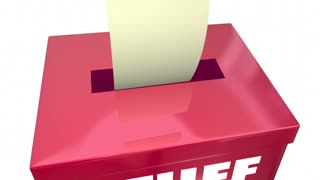 Stuff Ballot Box Vote Rigging Election Rigged Voting 3 D Animation