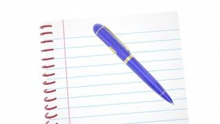 Take The Quiz Test Exam Trivia Fun Game Pen Writing Words 3 D Animation