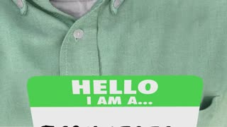 Technician Technology Expert Professional Name Tag 3 D Animation