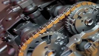 Technology Engine Motor Automotive Innovation 3 D Animation