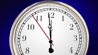 This Is Your Time Moment Personal Success Clock 3 D Animation