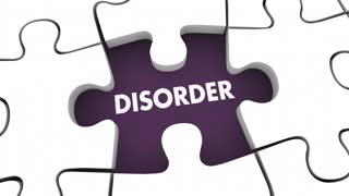 Treatment Disorder Health Care Therapy Cure Puzzle 3 D Animation