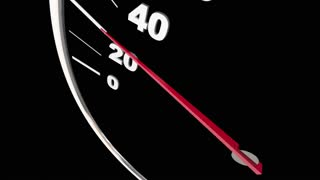 Virginia Va State Speedometer Destination Best Location 3 D Animation