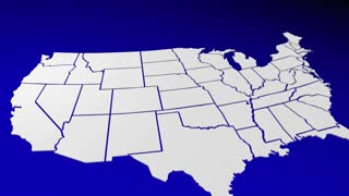 Washington Wa State Map Pin Location Navigation Destination