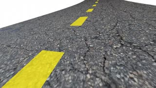 Whats Next Question Road Future Course Route Direction Coming 3 D Animation
