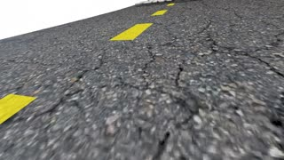 Whats Your Next Venture Road Question Mark 3 D Animation