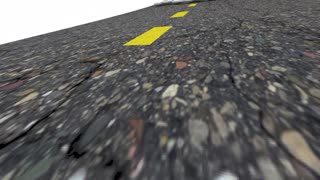 Whats Your Plan Road Goal Objective Driving Forward 3 D Animation