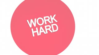 Work Hard Vs Smart The Zone Venn Diagram 3 D Animation
