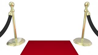 Worlds Richest People Red Carpet Elite Money Wealth 3 D Animation