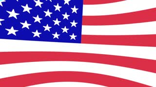 Virginia VA United States America USA Flag Map 3d Animation