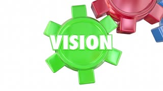 Vision Strategy Tools Execution Goal Plan Success Gears