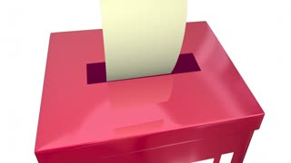 Vote Ballot Box Election Democracy Pick Favorite Animation 4K