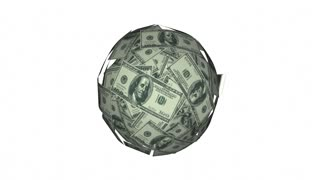 Win Money Cash Ball Sphere Lottery Luck 4K