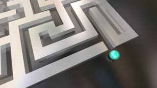 You Made It Maze Lost Found Success 3 D Animation
