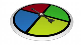You Win Game Spinner Competing Victory Animation