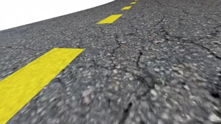 Zero 0 Percent Interest Rate Lowest Number Road 3 D Animation