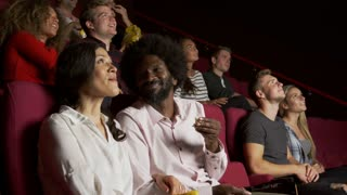Audience In Cinema Watching Film Shot On R3D