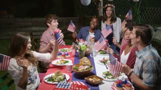 Friends Celebrate 4th Of July With Party Shot On R3D