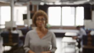 Portrait Of Mature Businesswoman In Office Shot On R3D