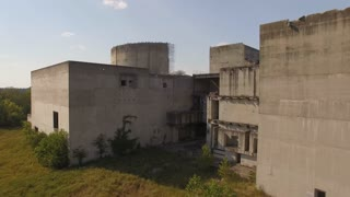 Abandoned Nuclear Power Plant Reactor With Vultures 003