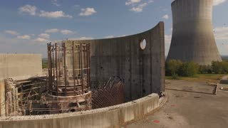 Abandoned Nuclear Power Plant Reactor With Vultures 004