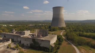 Abandoned Nuclear Power Plant With Vultures 001